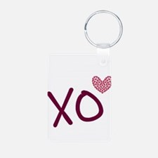 Xo Hearts (pink) For Valentine's Day Keychains