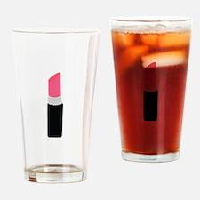 Lipstick Drinking Glass