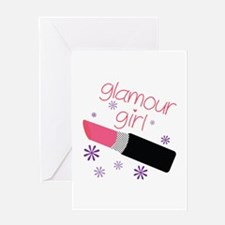 Glamour Girl Greeting Cards