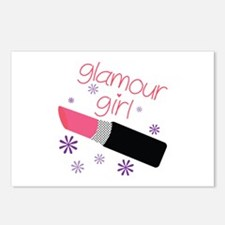 Glamour Girl Postcards (Package of 8)