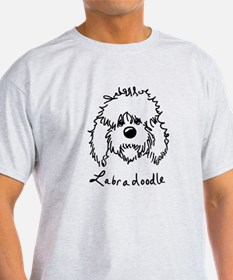 KiniArt Labradoodle Art T-Shirt