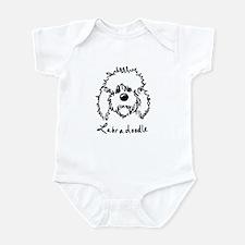 KiniArt Labradoodle Art Infant Bodysuit