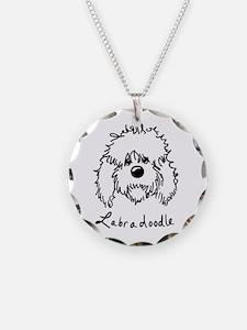 KiniArt Labradoodle Art Necklace