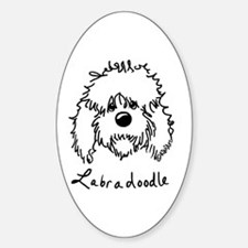 KiniArt Labradoodle Art Decal