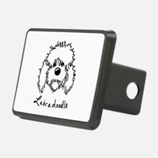 KiniArt Labradoodle Art Hitch Cover