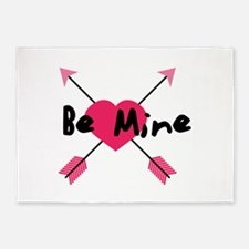 Be Mine 5'x7'Area Rug