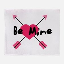 Be Mine Throw Blanket