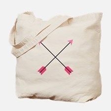 Crossed Arrows Tote Bag