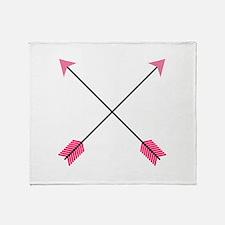 Crossed Arrows Throw Blanket