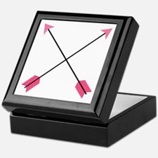 Crossed Arrows Keepsake Box