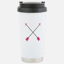 Crossed Arrows Travel Mug