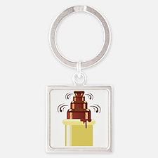 Chocolate Fountain Keychains