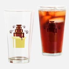 Chocolate Fountain Drinking Glass