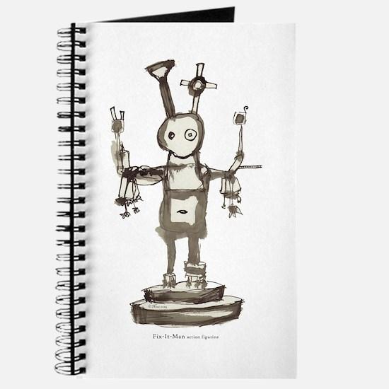 """""""Fix-It-Man"""" journal/notebook"""