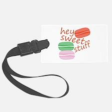 Sweet Stuff Luggage Tag