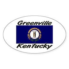 Greenville Kentucky Oval Decal