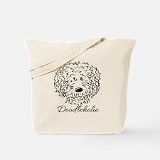KiniArt Doodleholic Tote Bag