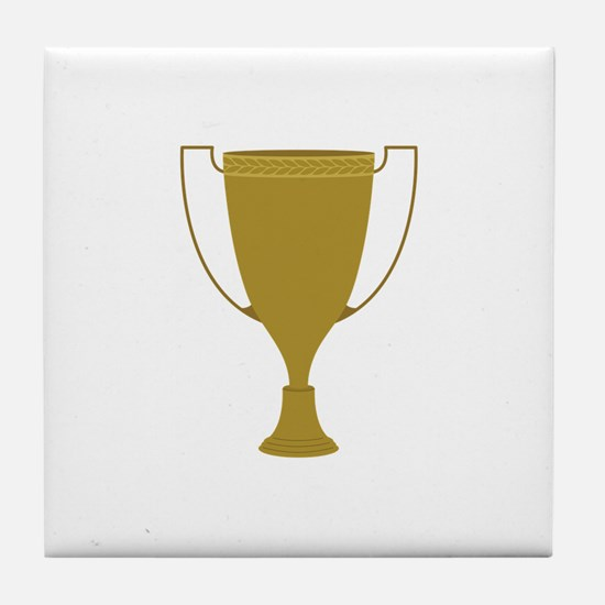 1st Place Trophy Tile Coaster
