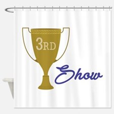 3rd Show Shower Curtain