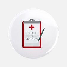 Nurse In Training Button