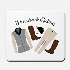 Horseback Riding Mousepad