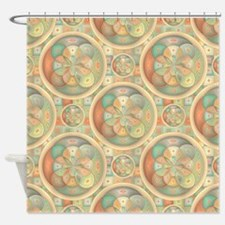 Complex geometric pattern Shower Curtain