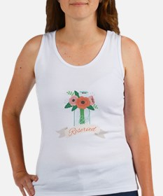 Reserved Flowers Tank Top