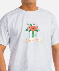 Reserved Flowers T-Shirt