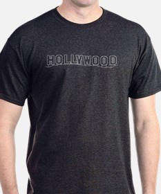 Hollywood Sign, CA T-Shirt
