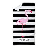Flamingo Beach Towels