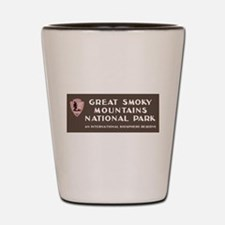 Great Smoky Mountains National Park, NC Shot Glass