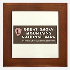 Great Smoky Mountains National Park, N Framed Tile