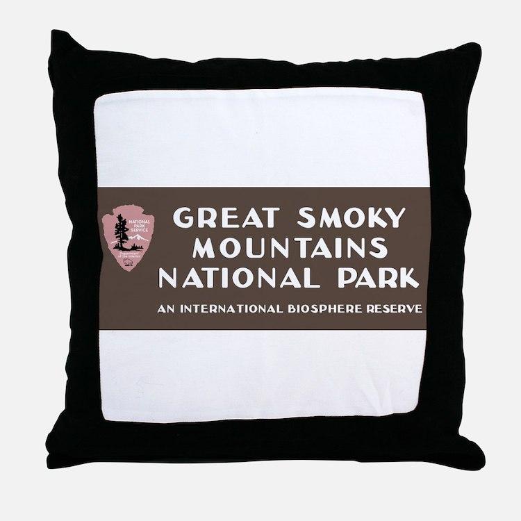 Great Smoky Mountains National Park, Throw Pillow