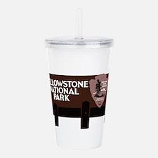 Yellowstone National P Acrylic Double-wall Tumbler