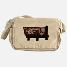 Yellowstone National Park, WY Messenger Bag