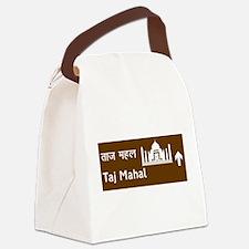 Taj Mahal, India Canvas Lunch Bag