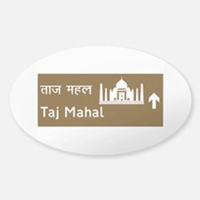 Taj Mahal, India Sticker (Oval)