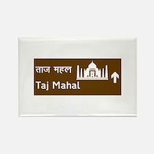 Taj Mahal, India Rectangle Magnet