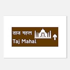 Taj Mahal, India Postcards (Package of 8)