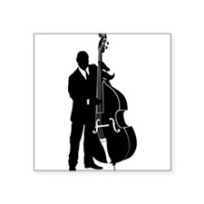 "Cool Orchestra Square Sticker 3"" x 3"""