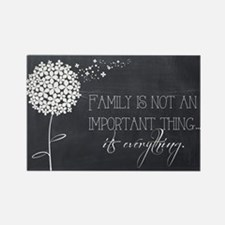 Cute Family Rectangle Magnet (100 pack)