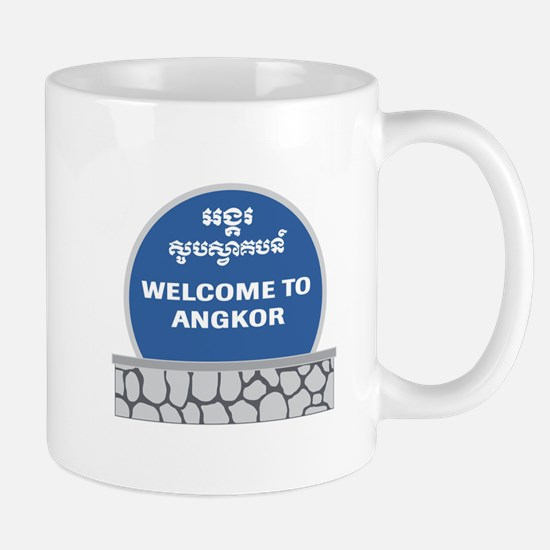 Welcome to Angkor Wat, Cambodia Mug