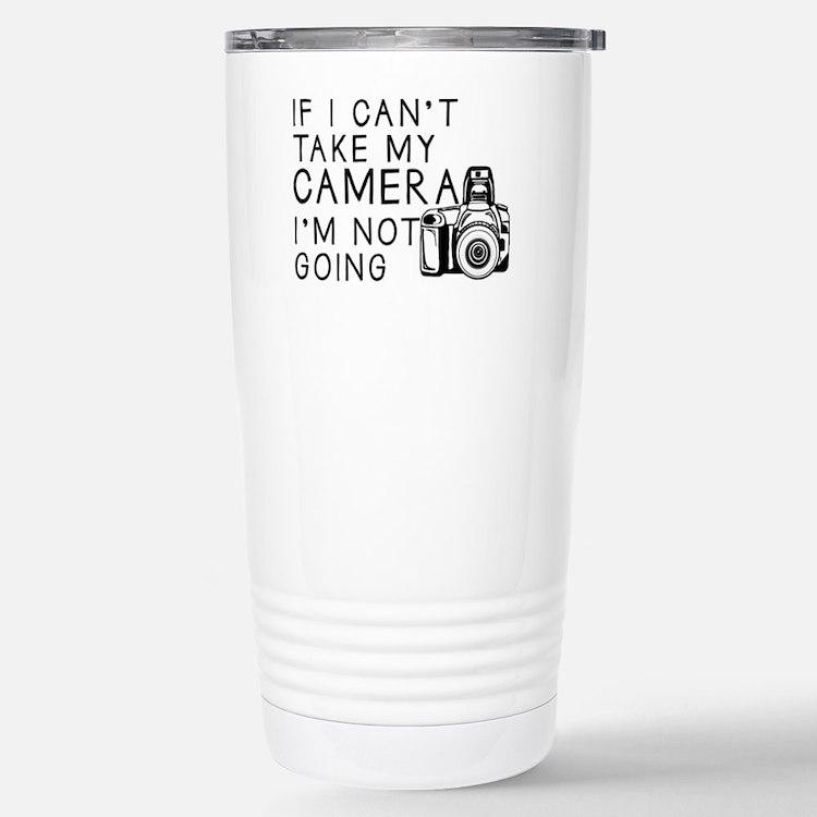 Cute Photography Travel Mug
