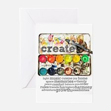 Unique Artists Greeting Cards (Pk of 10)