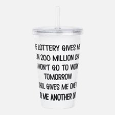 POUR ME ANOTHER DRINK Acrylic Double-wall Tumbler