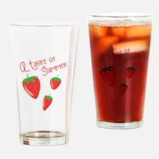Taste Of Summer Drinking Glass