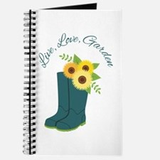 Live Love Garden Journal