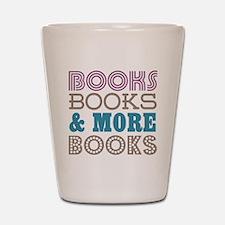 Books and Books Shot Glass