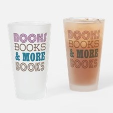 Books and Books Drinking Glass