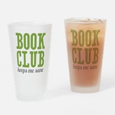 Book Club Drinking Glass